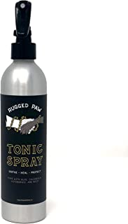 Rugged Paw Tonic Spray - Pet Care Dog Paw Healing Spray for Moisturizing & Soothing Dry Paw Pads and Snouts 8oz/237ml