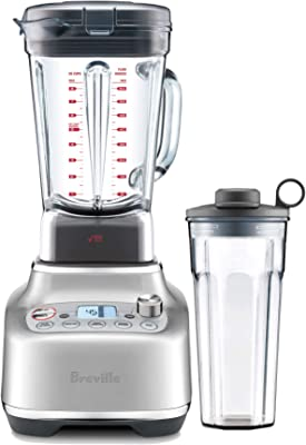 Breville BBL920BSS Super Q Countertop Blender, Brushed Stainless Steel, medium