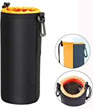 OOTSR Camera Case Protective Carrying Bag for Action Cameras and DSLR Camera Lens - Neoprene Portable Storage Pouch for Camera Accessories