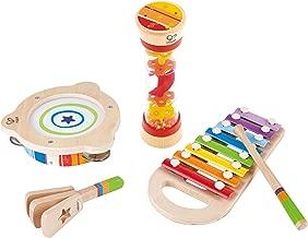 Hape Toddler Beat Box Set, Wooden Music Toy Set