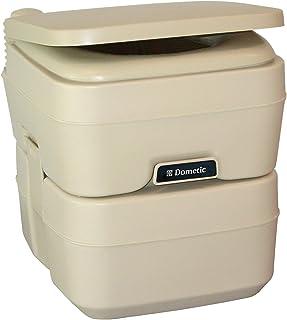 Dometic 301096602 5.0 Gallon Portable Toilet, Parchment
