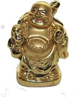 Martial Arts Gear Golden Spiritual Journey Pocket Buddha 2 Inch