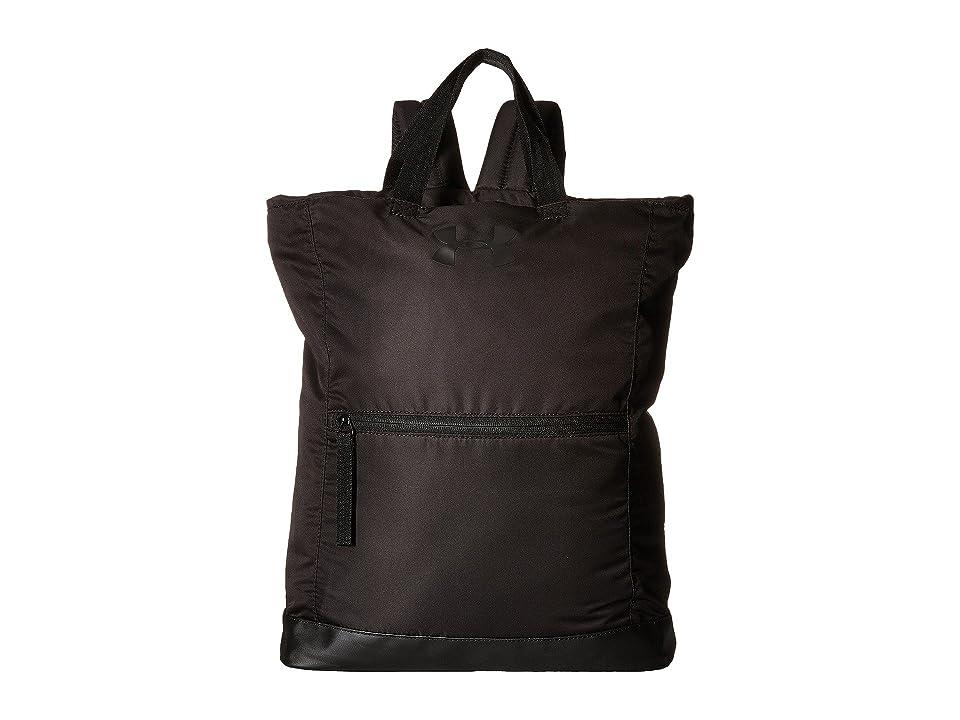 Under Armour UA Multi-Tasker Backpack (Black/Black/Black) Backpack Bags