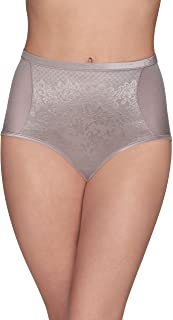Vanity Fair womens Smoothing Comfort With Lace Brief Panty 13262 Briefs (pack of 1)