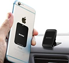 Wuteku Magnetic Cell Phone Dashboard Holder Kit for Car - Works on All Vehicles, Phones and Tablets - Compatible with Phones XR XS X 8 7 and Samsung S10 S9 S8 by Pro Driver - Strong 3M