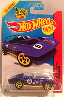 Hot Wheels 2015 Track Aces Models Corvette Grand Sport Roadster Dark Blue 179/250