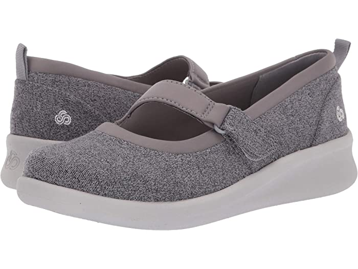 Clarks Sillian2.0Soul Textile Shoes in Grey Standard Fit Size 4
