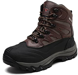 arctiv8 Mens Waterproof Winter Hiking Snow Boots