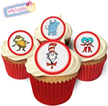 Best dr seuss edible cupcake toppers Reviews