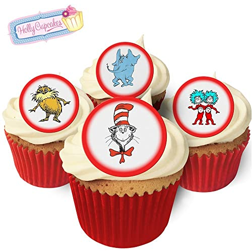 Admirable Dr Seuss Cupcake Toppers Amazon Com Personalised Birthday Cards Epsylily Jamesorg