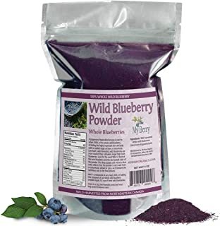 organic wild bilberries