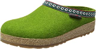 Haflinger Grizzly Franzl, Zapatillas de Estar por casa Mujer, Verde-Grün (grasgrün 36), 39