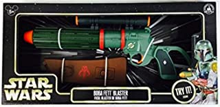 Disney Parks Exclusive Authentic Original Star Wars Boba Fett Blaster with Electronic Blaster Sound by
