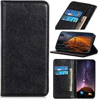 Phone case Magnetic Retro Crazy Horse Texture Horizontal Flip Leather Case for OPPO Reno 5G / 10X Zoom, with Holder & Card...