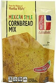 Gladiola Martha White Mexican Style Cornbread Mix 6 Oz (Pack of 6)