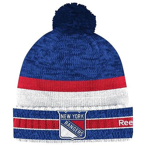 Reebok NHL Center Ice Men s Cuffed Knit Beanie Hat with Pom 4992547ff806