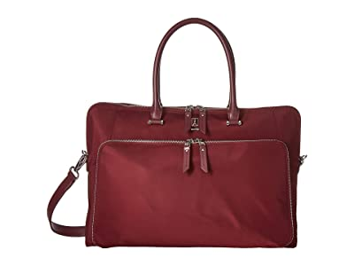 Travelpro Platinum Elite Brief (Bordeaux) Briefcase Bags