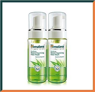 Himalaya Herbals Neem ansiktstvättskum med gurkmeja extrakt. Tvålfri, SLS, parabenfri hypoallergen örttbaserat ansiktstvät...