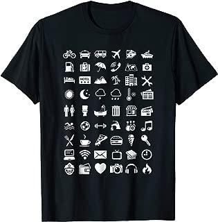 Travel Icon Language Travelling Shirt