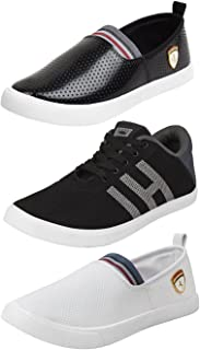 ETHICS Best Combo Pack of 3 Loafers Shoes for Men