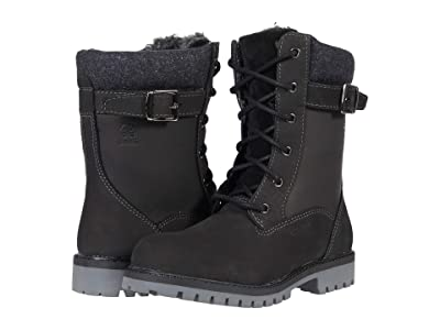 Kamik Kids Takoda Mid (Little Kid) (Black) Girl