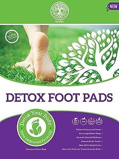 20 psc Parche de pie desintoxicante 2 en 1 para aliviar el dolor, adelgazar la pérdida de peso, parches de migrena para aliviar el estrés y eliminar toxinas