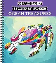 Brain Games - Sticker by Number: Ocean Treasures