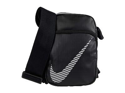 Nike Heritage Small Items Bag Winterized (Black/Black/Reflective) Bags
