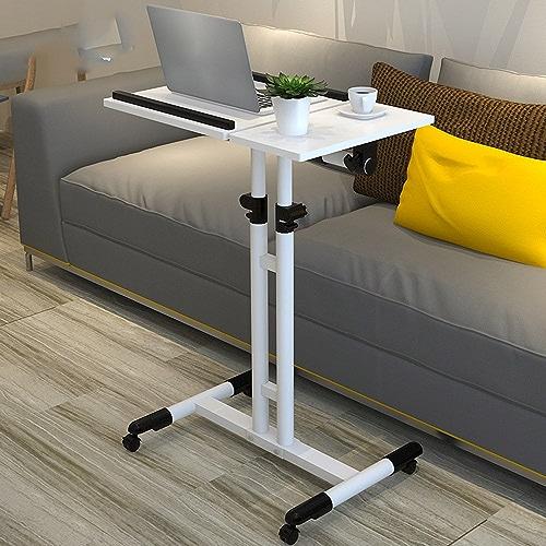 Table pliante réglable Accueil Table de Chevet de Levage Table de Bureau Mobile 5 Couleurs Disponibles 60  40cm Peut être tourné (Couleur   D)