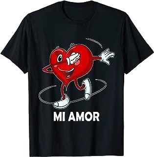 Dabbing Heart T-Shirt Dia de San Valentin Mi Amor Vestir