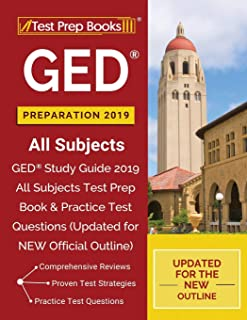 GED Preparation 2019 All Subjects: GED Study Guide 2019 All Subjects Test Prep Book &..