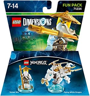 Lego Dimensions: Fun Pack Sensei Wu (White Ninja) [Importación Inglesa]