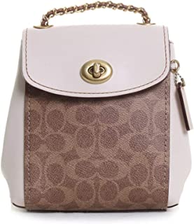 COACH Women's Coated Canvas Signature Parker Backpack 16