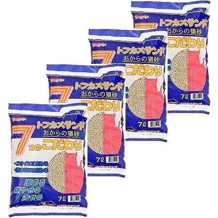 トフカスサンド 猫砂 7L×4個 (ケース販売)