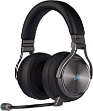 Corsair Virtuoso RGB Wireless SE High-Fidelity Gaming Headset, 7.1 Surround Sound, Broadcast-Grade Omni-Directional Microphone with PC, Xbox One, PS4, Switch and Mobile Compatibility - Gunmetal