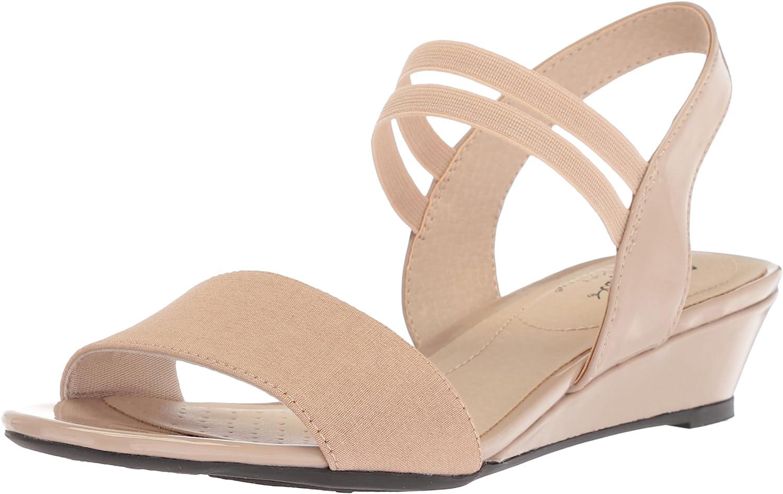 LifeStride Women's Yolo Wedge Sandal