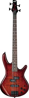 Ibanez 4 String Bass Guitar, Right Handed, Brown (GSR200SMCNB)