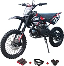 X-Pro 125cc Dirt Bike Pit Bike Adults Dirt Pit Bike 125 Dirt Bike Dirt Pitbike with Gloves, Goggle and Handgrip