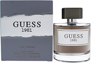Guess 1981 By Guess For Men - 3.4 Oz Edt Spray 3.4 oz