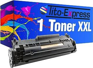 Tito-Express Platinum Series 1x Tóner XXL Black Compatible con HP Q2612A 12A Laserjet 1010 1012 1015 1018 1020 1022-N NW 1028 3015-AIO 3020-AIO 3030-AIO 3050-Z 3052 3055 M1005-MFP M1319-F