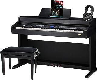 Classic Cantabile DP-A 410 SM piano numérique noir mat SET y compris banquette et casque