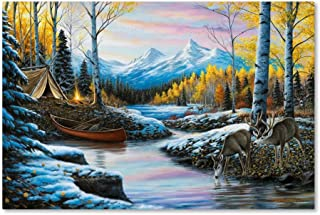 High Country Love by Chuck Black, 30x47-Inch Canvas Wall Art