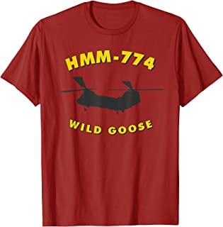 HMM-774 Wild Goose Helicopter Squadron CH-46 Sea Knight Tee