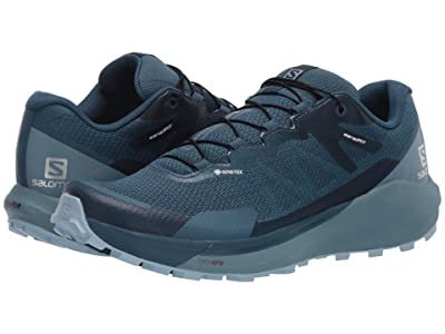 Salomon Sense Ride 3 GTX(r) Invisible Fit (Indian Teal/Smoke Blue/Angel Falls) Women