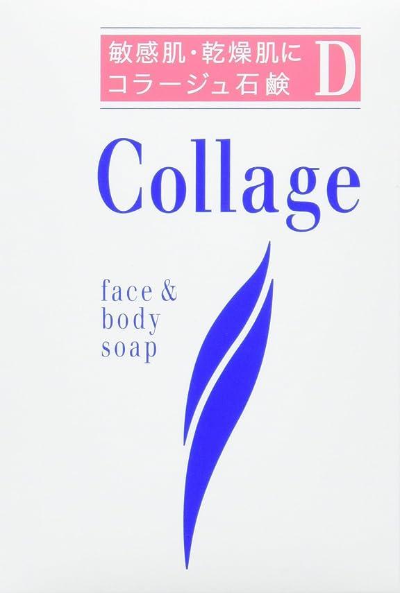 広大な憂慮すべき遠足コラージュ D乾性肌用石鹸 100g