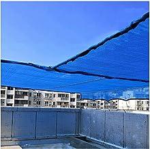 LIXIONG Sunblock Shade Cloth, Blue Anti-UV Anti-aging Anti-rimpel Grommet 6-naald Naaien, voor Zwembad Speeltuin Dak Tuin,...