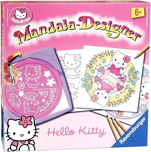 Ravensburger - 29982 - Loisir Créatif - Mandala Designer® - Hello Kitty