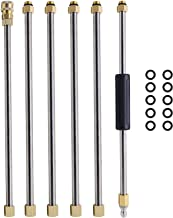 Twinkle Star Pressure Washer Extension Wand Set, 7.5 ft Replacement Lance, 4000PSI