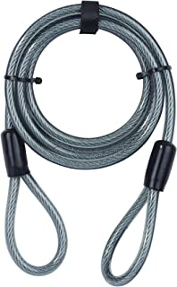 Yale YC1/10/220/1 - Security Cable 2200mm - Flexible Steel Cable - Additional Security to use with Bike Lock - Complete Pr...