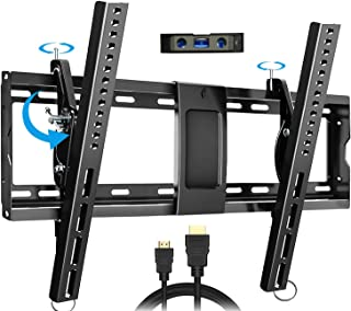EverstoneAdjustableTiltTVWallMountBracketforMost32-86InchLED,LCD,OLED,PlasmaFlatScreen,CurvedTVs,LowProfile...